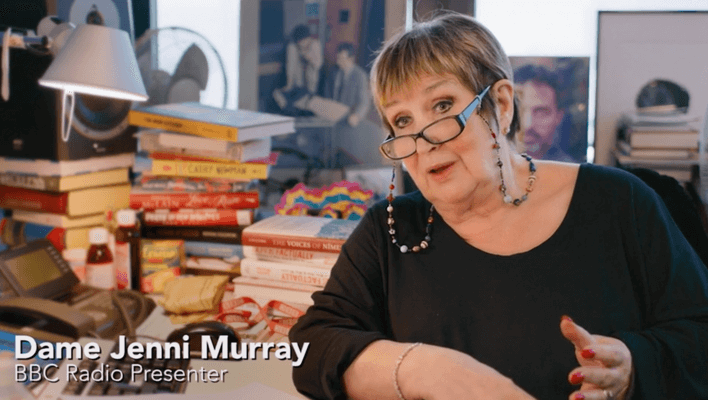 Dame Jenni Murray at StillWorking9to5.com