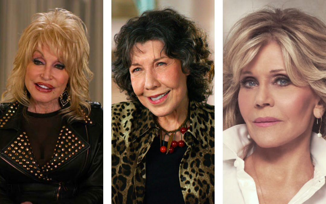 "Dolly Parton, Lily Tomlin, & Jane Fonda Look Back on 9 to 5 in ""Still Working 9 to 5"" the documentary."